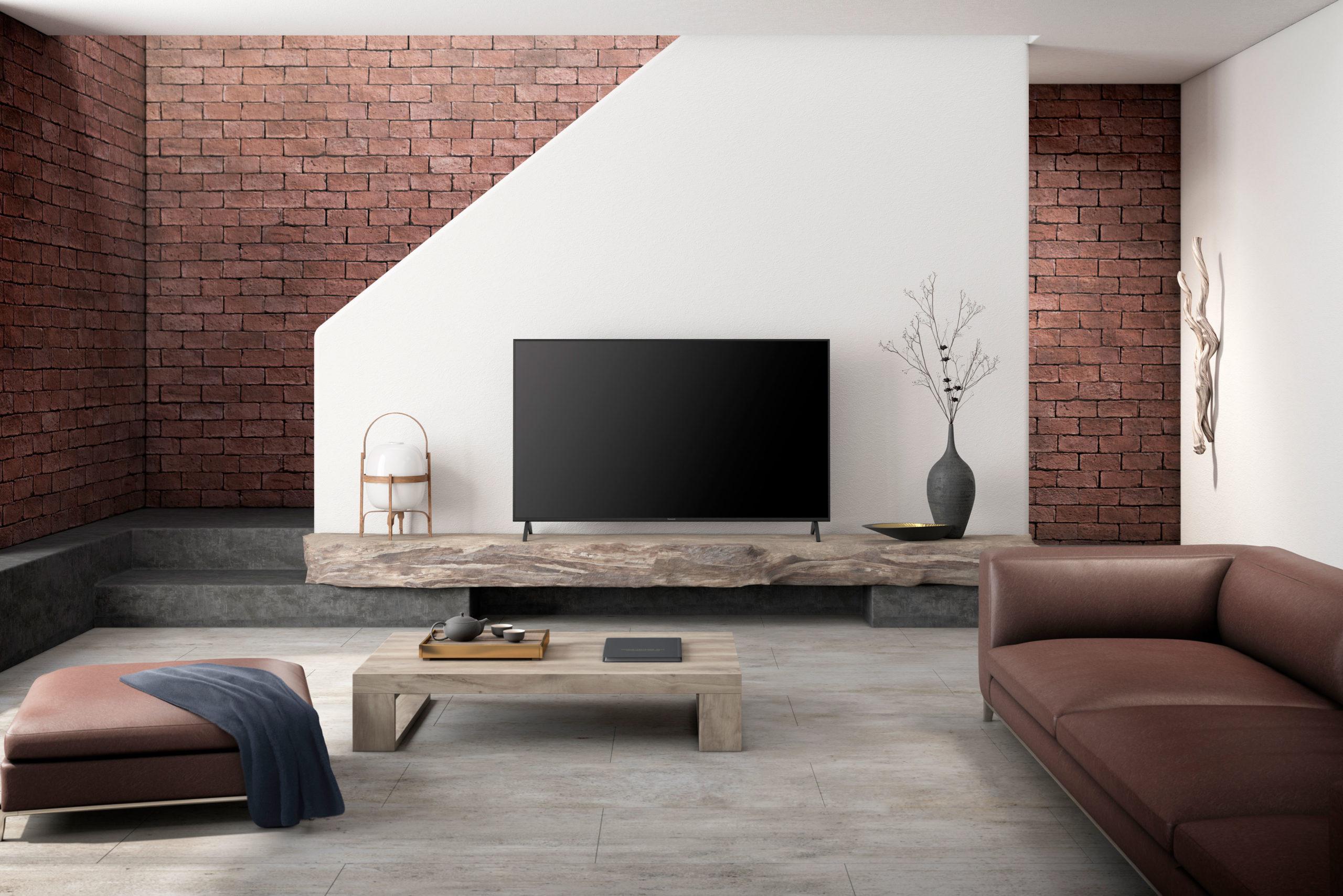 TV Bildschirm im Wohnzimmer