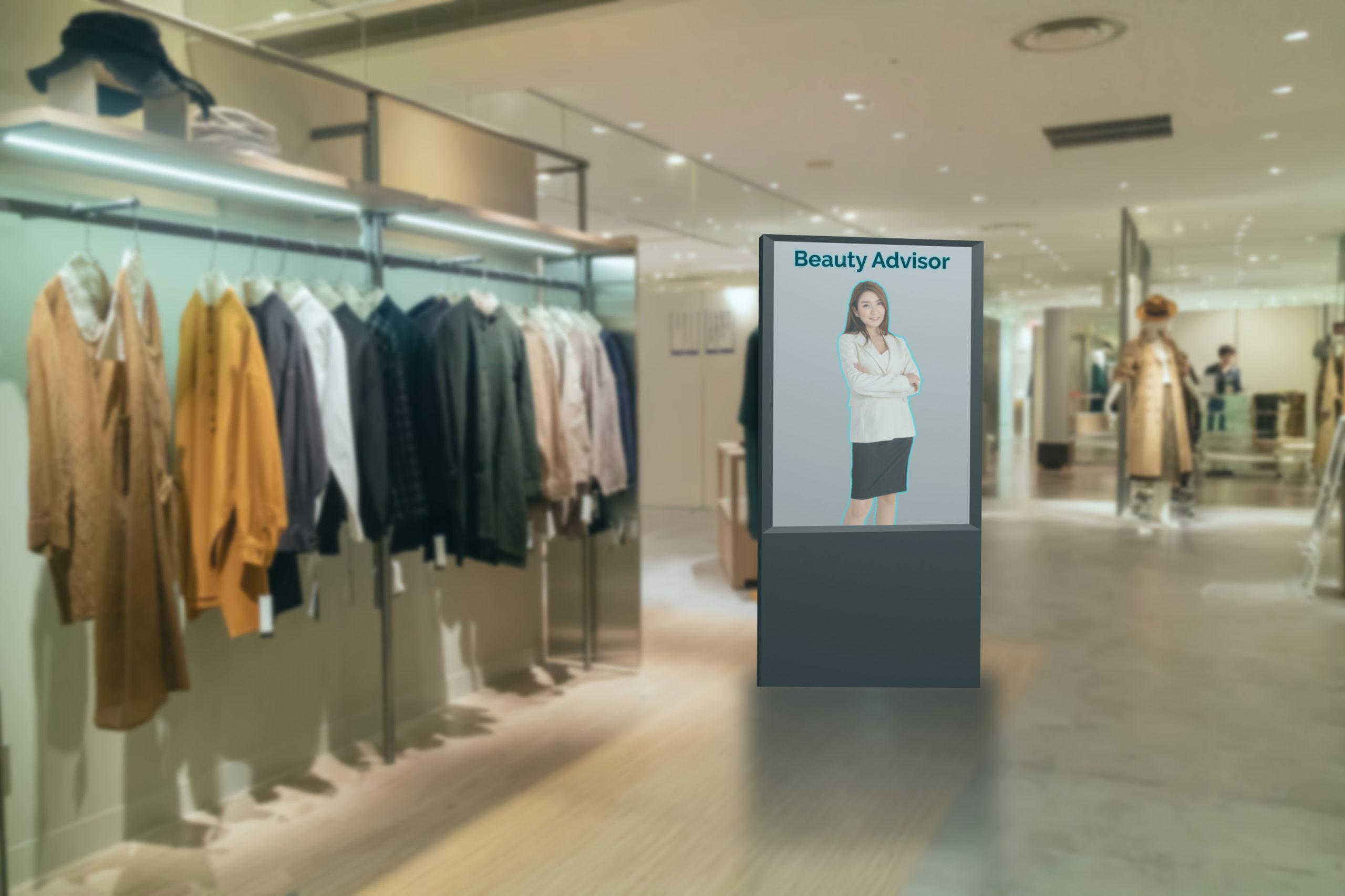Digital Signage in Verkaufsräumen